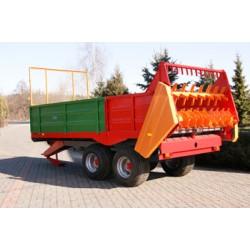 Rozrzutnik Jol-Met 8 ton N250/4