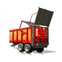 Rozrzutnik Ursus 8 ton tandem drewniane burty N-266