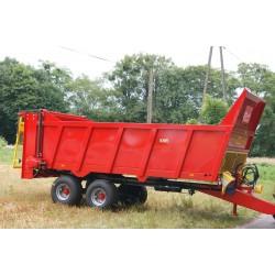 Rozrzutnik skorupowy Jol-Met 10 ton N250/5 Premium