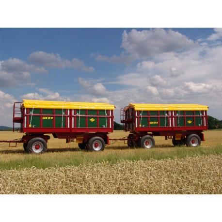 18 tonowa przyczepa rolnicza